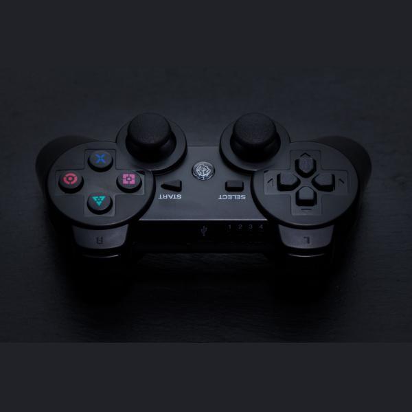 ZEROGROUND SAITO Ασύρματο Gamepad για PC/PS3 Επαναφορτιζόμενο GP-1200BT 2