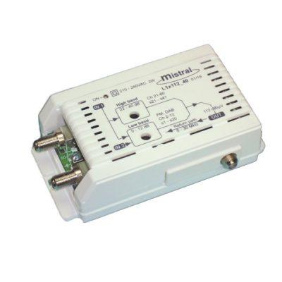 Mistral L1x112 Ενισχυτής γραμμής/κεντρικός στα 40dB (0242)