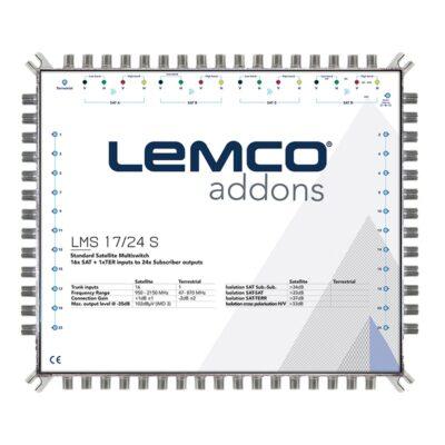LEMCO LMS 17/24 S Πολυδιακόπτης 17 εισόδων Single