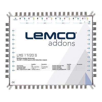 LEMCO LMS 17/20 S Πολυδιακόπτης 17 εισόδων Single