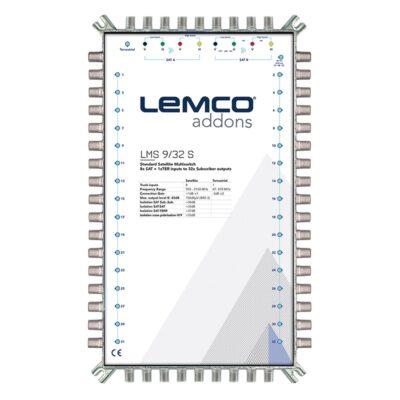LEMCO LMS 9/32 S Πολυδιακόπτης 9 εισόδων Single