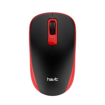 HAVIT MS626GT Ασύρματο Ποντίκι 1200DPi με 3 πλήκτρα, κόκκινο