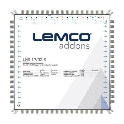 LEMCO LMS 17x32 S Πολυδιακόπτης 17 εισόδων Single