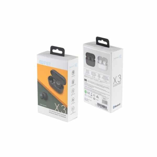 EDIFIER x3 True Wireless Stereo Earbuds Bluetooth v5.0 aptX, Black 3