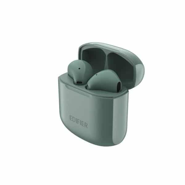 EDIFIER TWS200 True Wireless Stereo Earbuds Bluetooth v5.0 aptX, Midnight Green 1