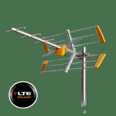 TELEVES 111942 LTE Κεραία UHF τύπου Yagi 10dB