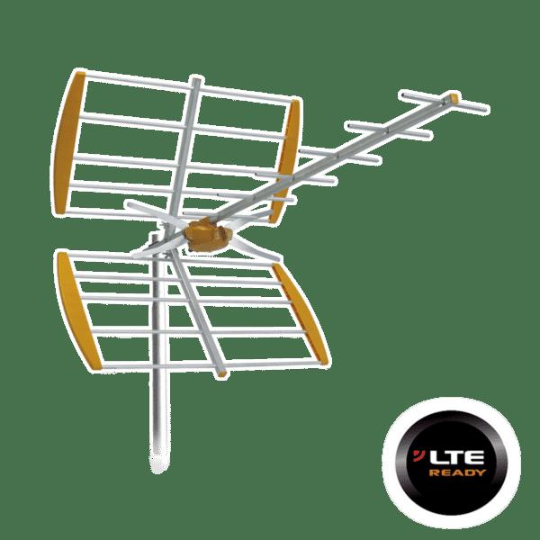 TELEVES Εξωτερική Κεραία UHF YAGI LTE 12dB 112140