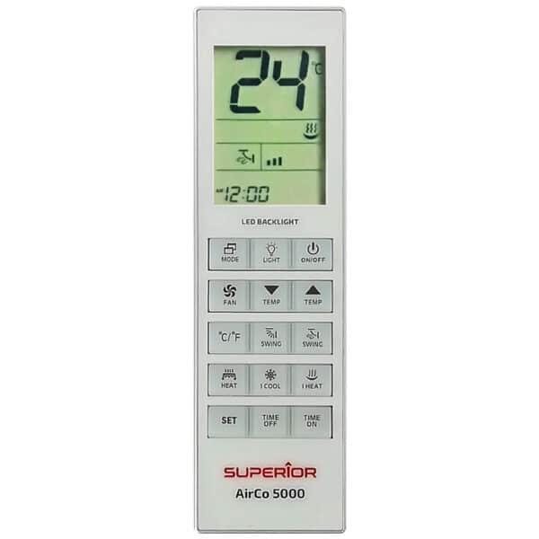 SUPERIOR AIRCO 5000 in 1 Universal τηλεχειριστήριο αντικατάστασης για air-conditions