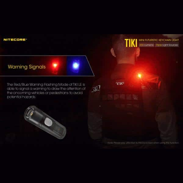 NITECORE TIKI LE Φακός LED Μπρελόκ 300lm Black 21
