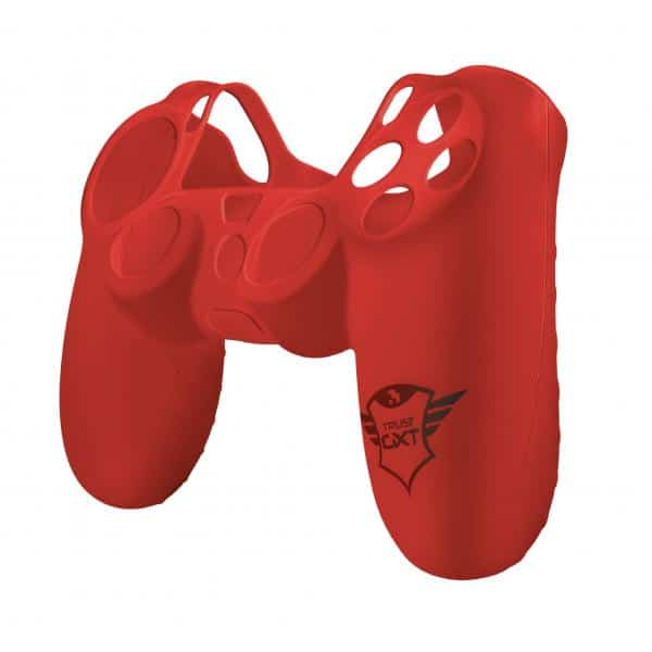 TRUST GXT 744R Rubber Skin for PS4 controllers - red