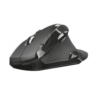 TRUST Vergo Wireless Ergonomic Comfort Mouse Μαύρο (21722)
