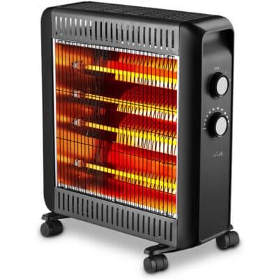 LIFE COZY Ηλεκτρική θερμάστρα χαλαζία 2200W.