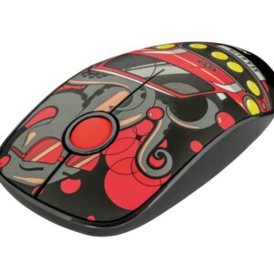 TRUST Sketch Silent Click Wireless Mouse Red (23336)