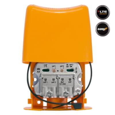 TELEVES 561701 NanoKom Ενισχυτής Ιστού LTE UHF/UHF/VHF