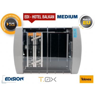 TELEVES EDI-HOTEL BALKAN Medium Modular Headend