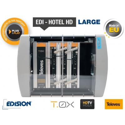TELEVES EDI-HOTEL HD Large Modular Headend