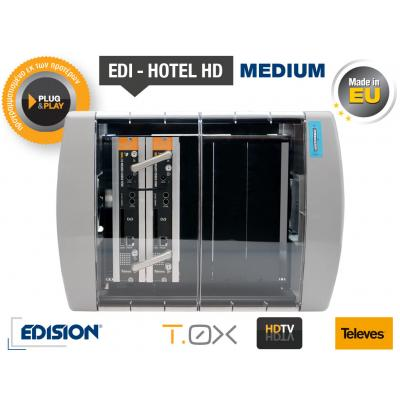 TELEVES EDI-HOTEL HD Medium Modular Headend