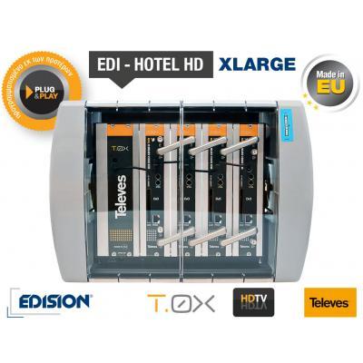 TELEVES EDI-HOTEL HD Xlarge Modular Headend