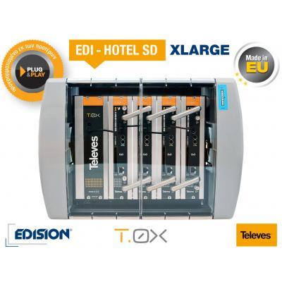 TELEVES EDI-HOTEL SD XLarge Modular Headend