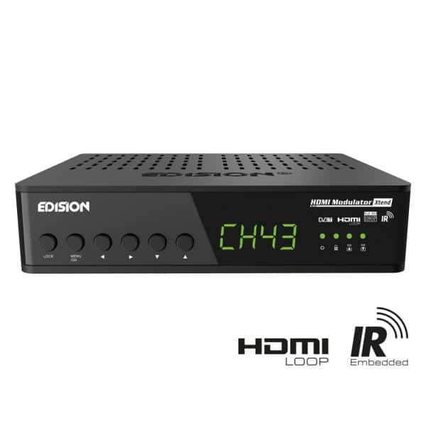 EDISION Xtend HDMI Ψηφιακός διαμορφωτής Full HD