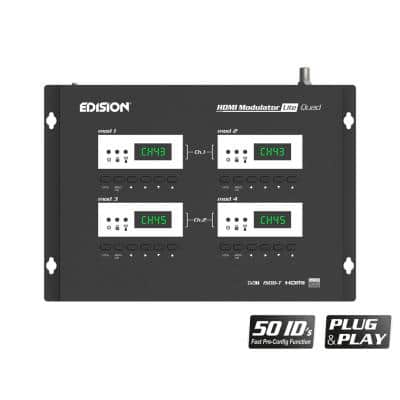 EDISION Digital HDMI Modulator lite Quad