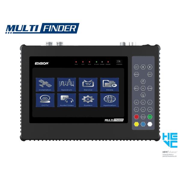 EDISION Multi-Finder ηλεκτρονικό όργανο μετρήσεων για DVB-T2/S2 & CCTV