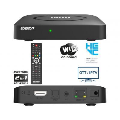 EDISION PING Full HD Linux OTT IPTV δέκτης H.265 HEVC