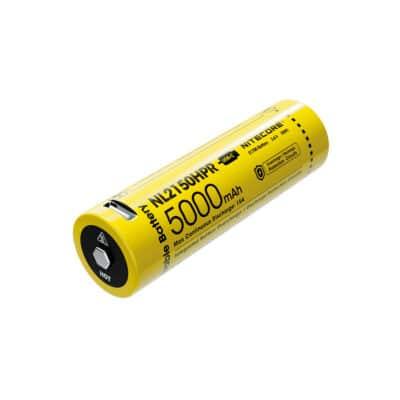 NITECORE NL2150HPR USB-C Επαναφορτιζόμενη Μπαταρία 21700 5000mAh 15A