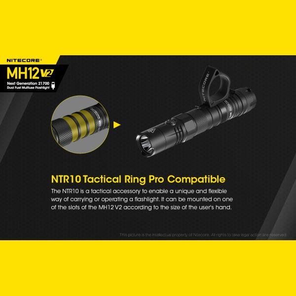 NITECORE MH12 v2 Φακός LED Multi Task Hybrid, 1200lm 10