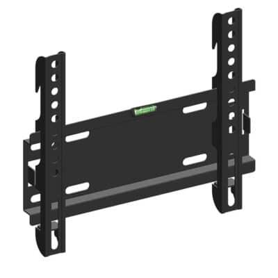 """Σταθερή επιτοίχια βάση στήριξης, για τηλεοράσεις LED/LCD από 19"""" έως 42""""."""