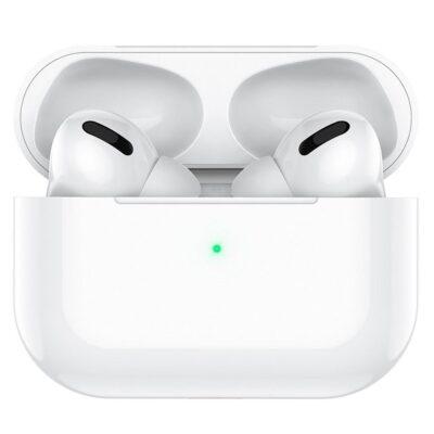 HOCO ES38 Original series TWS Wireless Earphone with Silicone Case White