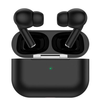 HOCO ES38 Original series TWS Wireless Earphone with Silicone Case Black