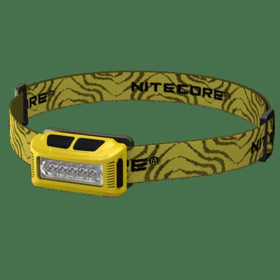 NITECORE NU10 Φακός LED, 160lm, Κίτρινος