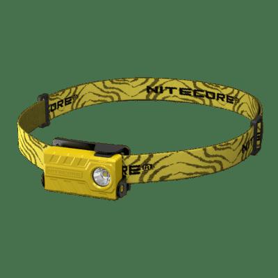 NITECORE NU20 Φακός LED, 360lm, 80m, Κίτρινος