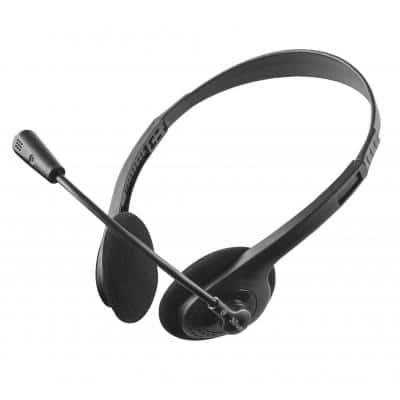 Trust Ziva Chat Headset Black (21517)