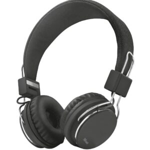 TRUST Ziva Foldable Headphones for smartphone and tablet - black (21821)