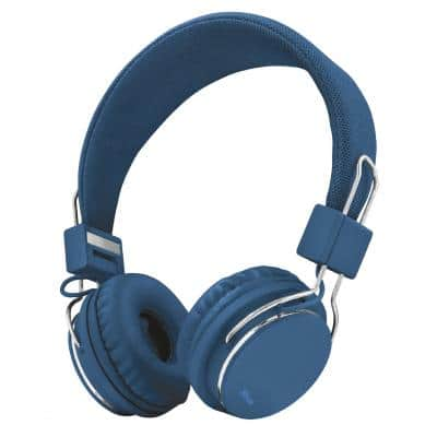 Trust Ziva Foldable Headphones for smartphone and tablet - blue (21823)