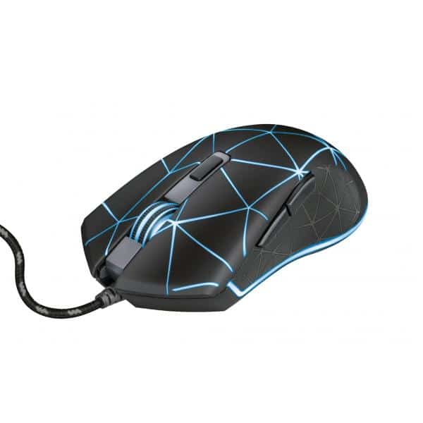 TRUST GXT 133 Locx Illuminated Gaming Mouse (22988)