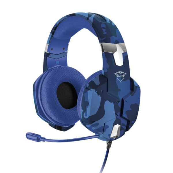 TRUST GXT 322B Carus Gaming Headset for PS4/ PS5 Blue Camo