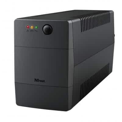 TRUST Paxxon 800VA UPS with 2 standard wall power outlets