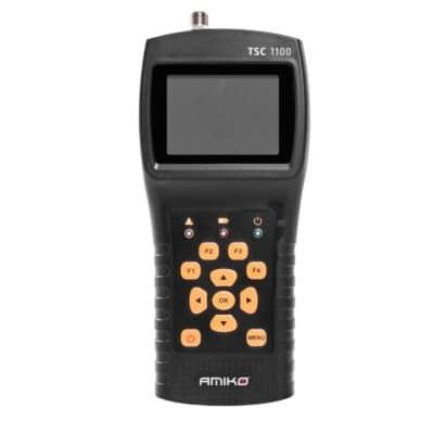 ΑΜΙΚΟ TSC-1100 Πεδιόμετρο DVB-S/S2/T/T2/C