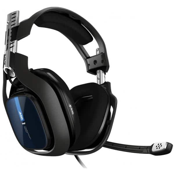 ASTRO A40 TR PS4/PC Wired Gaming Headset Black - Blue