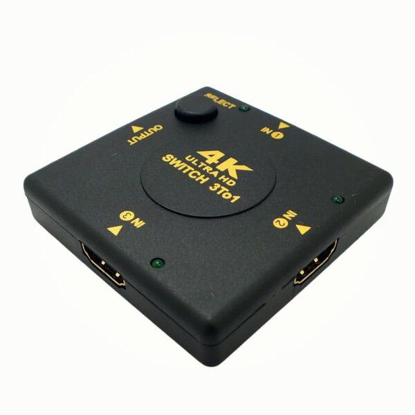 ANGA PS-M301-4K HDMI Επιλογέας 3 εισόδων