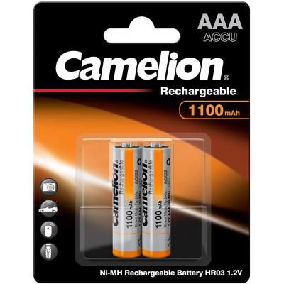Camelion Μπαταρία Επαναφορτιζόμενη AAA 1100mAh NH-AAA1100BP2 (2τμχ.)