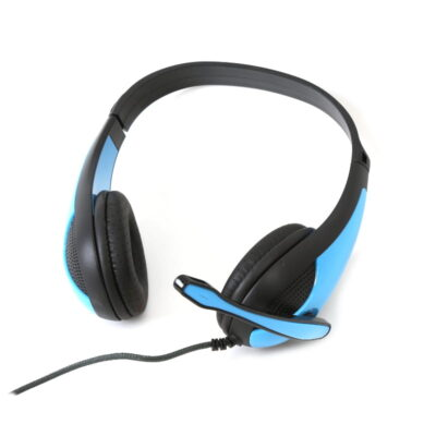 FS Chat Stereo Headset On-Ear Blue FH4008BL