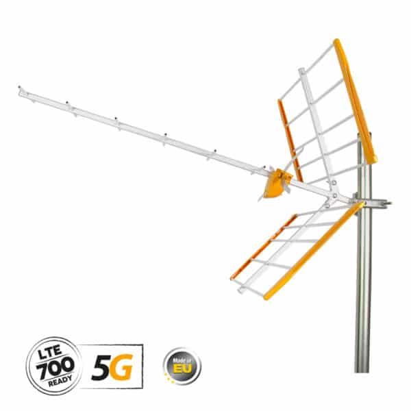 TELEVES YAGI Κεραία UHF 5G LTE 13dB (112120)