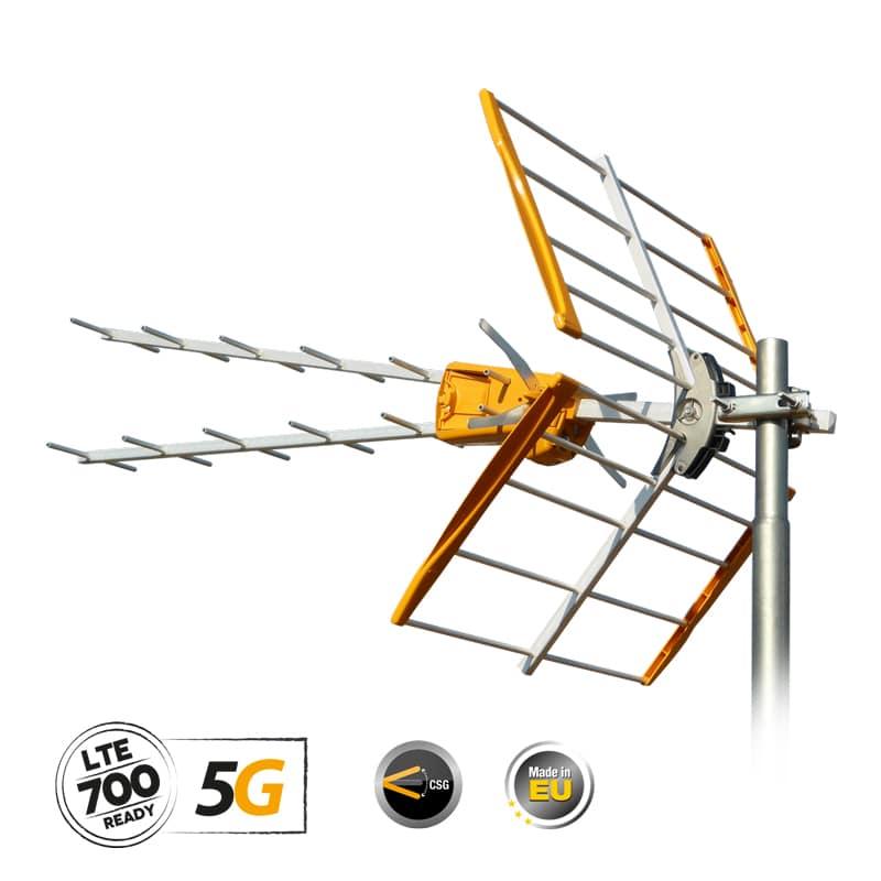 TELEVES ''V'' Zenit κεραία UHF 5G LTE (149221)