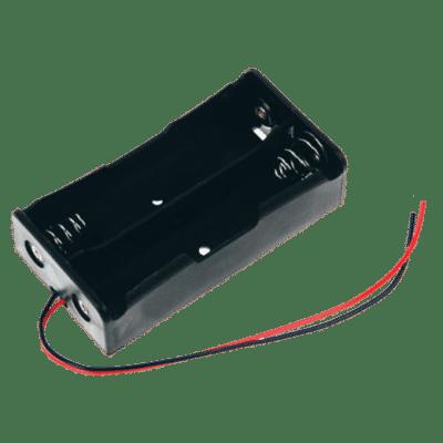 BATTERY CASE 18650 2C Θήκη 2 θέσεων για μπαταρίες 18650 με καλώδια σύνδεσης