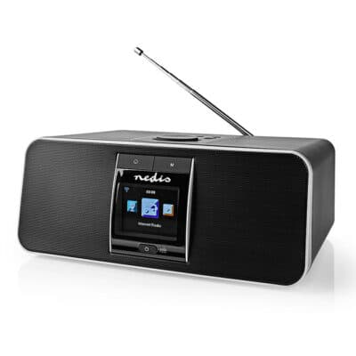 NEDIS RDIN5005BK Internet, DAB+ και FM ραδιόφωνο με λειτουργία Bluetooth, 42W