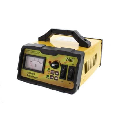 WELL Φορτιστής - Επανορθωτής μπαταρίας 12V, 24V, 15A (CHAR-CAR-15121-WL)